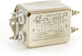DL-25D1, 25 А, Сетевой фильтр