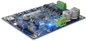 Фото 1/2 STEVAL-SPIN3201, 3-фазный brushless DC мотор драйвер на базе STSPIN32F0 и STD140N6F7