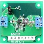 BD9A301MUV-EVK-001, Оценочная плата, понижающий DC/DC преобразователь ...