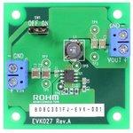 BD9C301FJ-EVK-001, Оценочная плата, одиночный синхронный понижающий DC/DC ...