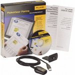 FVF-SC2, Программное обеспечение и USB-кабель для Fluke серии 280, 180; 53-II B и 54-II B; 789; 1550