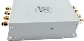 DL-80EA1, 80 А, Трехфазный сетевой фильтр