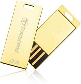 TS32GJFT3G, 32GB JETFLASH T3G (Gold)