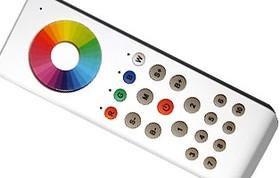 SR-2806W2 (SR-RGBW-434 White), Пульт сенсорный для контроллера SR-RGBW-4CH-434
