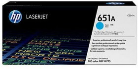 Картридж HP CE341A голубой