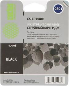 Картридж CACTUS CS-EPT0801 черный