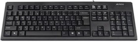 Клавиатура A4 KR-83, USB, черный [kr-83 black]
