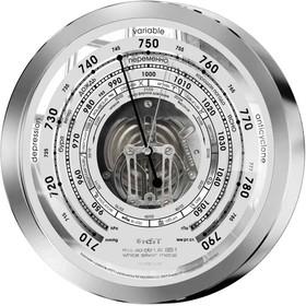 07851 RST Барометр металлический с открытым механизмом 150х33 mm. EAN 7316040078514