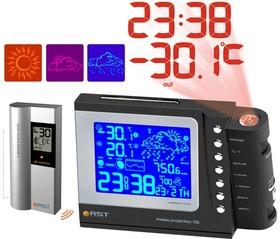 32705 Проекционная погодная станция Meteo projection 705, прорезиненный корпус. EAN 7316040327056