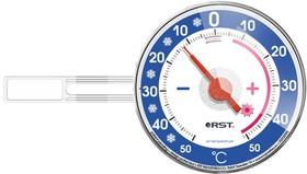 02095 Термометр оконный биметаллический, на липучке, RST. EAN 7316040020957