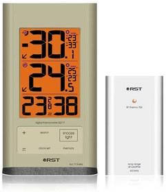 02717 Термометр с радиодатчиком серии 0271Х. EAN 7316040027178