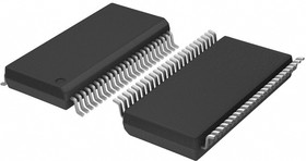 Фото 1/3 MC74LCX16245DTG, 16-битный приемопередатчик, неинвертирующий, 5В, три состояния на выходе