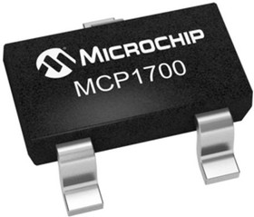 MCP1700T-1802E/TT, Cтабилизатор напряжения с малым падением напряжения, 2.3В до 6В, 178мВ, 1.8В, 200мА [SOT-23]