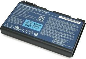 Фото 1/2 Аккумуляторная батарея (аккумулятор) TM00741 для ноутбука Acer Extensa 5200 5220 5600 5620 7200 7600 TravelMate 7520g 4000mAh 11.1V Premium