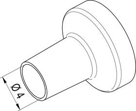 Фото 1/2 0472BR, Насадка (сопло) 4.0мм для термофена i-TOOL AIR S