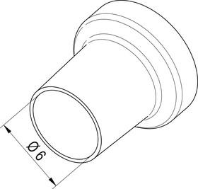 Фото 1/2 0472СR, Насадка (сопло) 6.0мм для термофена i-TOOL AIR S