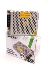 Фото 1/2 ND-P60-IP20-12V (71465), Трансформатор (Драйвер) для светодиодных ламп и лент IP20, 12В, 60Вт