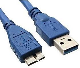 Фото 1/2 USB3.0-A M - miniUSB, Мультимедийный кабель 1м