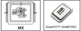 IRF7946TR1PBF, StrongIRFET N-канал 40В 198А DirectFET MX