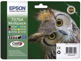 Набор картриджей EPSON T079A 6 цветов [c13t079a4a10]