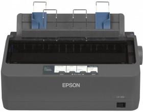 Принтер EPSON LX-350, матричный, цвет: черный [c11cc24031 ]