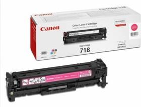 Картридж CANON 718M 2660B002, пурпурный