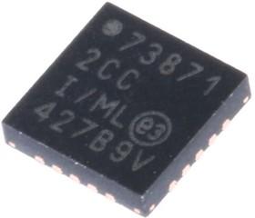 MCP73871-2CCI/ML, LI-ION CHARGER USB/DC 4.2V TE LBO QFN20