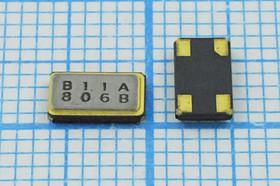 кварцевый резонатор 12.8МГц в корпусе SMD 6x3.5мм, с нагрузкой 10пФ, 12800 \SMD06035C4\10\ 20\\DSX631S\1Г (B11A)