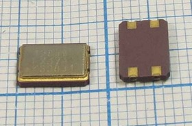 кварцевый резонатор 12.8МГц в корпусе SMD 7x5мм, с нагрузкой 16пФ, 12800 \SMD07050C4\ 16\\\CX-89F\1Г