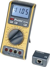 MT-1610, Мультиметр с тестером витой пары