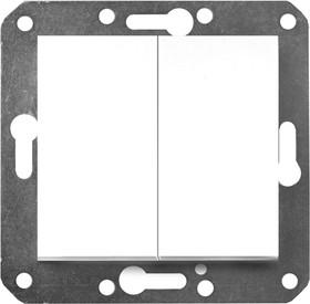 V01-11-V21-M (Выключатель 2-кл. (бел), м-зм, Magenta)