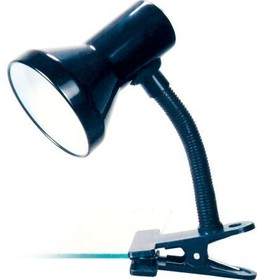 KD-319 С02 черный (Светильник - прищепка, 230V 60W)