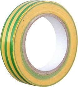 V02-7M-13х15-20 (Изолента 0,13х15 мм желто-зеленая 20 метров)