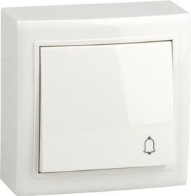 V01-31-Z11-S (Выключатель кноп. (бел), Solar)