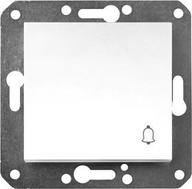 V01-11-Z11-M (Выключатель кноп. (бел), м-зм, Magenta)
