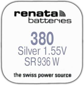 R 380 (SR 936W, 1.55V, 84mAh, 9,5x3,6mm)(батарейка для часов)