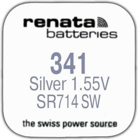 R 341 (SR 714 SW, 1.55V, 15mAh, 7.9x1.4mm)(батарейка для часов)