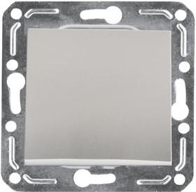 V01-15-V11-M (Выключатель 1-кл. Argento(серебро), м-зм, Magenta )