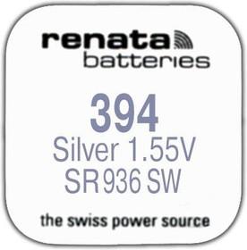 R 394 (SR 936 SW, 1.55V, 84mAh, 9.5x3.6mm)(батарейка для часов)
