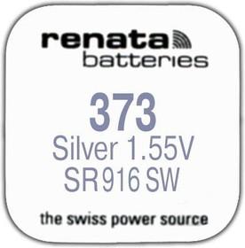 R 373 (SR 916 SW, 1.55V, 29mAh, 9.5x1.6mm)(батарейка для часов)