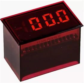 DMS-20PC-1-LM-F-C, Self-Powered 3 Digit Led Display AC Line Voltage Monitors