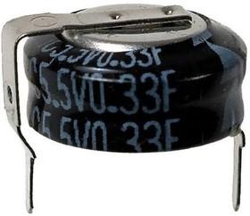 Фото 1/5 EECS0HD334H, 0.33 Ф, 5.5 B, 10 мм, 1207H, Ионистор