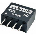 NME0505SC, DC/DC преобразователь, 1 Вт, вход 4.5-5.5В, выход 5в/0.2А, SIP