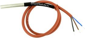 Фото 1/2 DS18B20-IP67-0.5 (3-wire), Герметичный датчик температуры DS18B20, IP67, трехпроводный, кабель 0.5 м