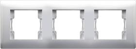 V01-11-A31-M, Рамка 3-мест. (бел), Magenta