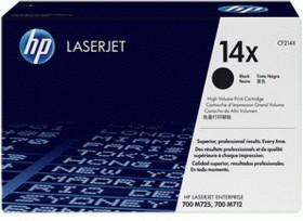 Картридж HP 14X черный [cf214x]