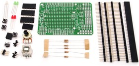 Protoshield Kit for Arduino remixed v1.0, Набор для ARDUINO