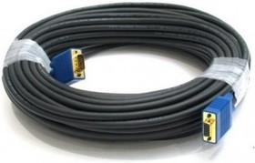 Кабель VGA DB15 (m) - DB15 (m), ферритовый фильтр , 20м, серый [cable20]