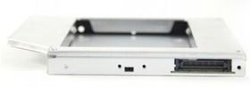Mobile rack (салазки) для HDD AGESTAR ISMR2S IDE-SATA, серебристый
