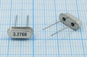 Фото 1/4 кварцевый резонатор 3.2768МГц в низком корпусе HC49S с нагрузкой 18пФ, 3276,8 \HC49S3\18\ 30\ 50/-20~70C\S[FT]\1Г (3.2768